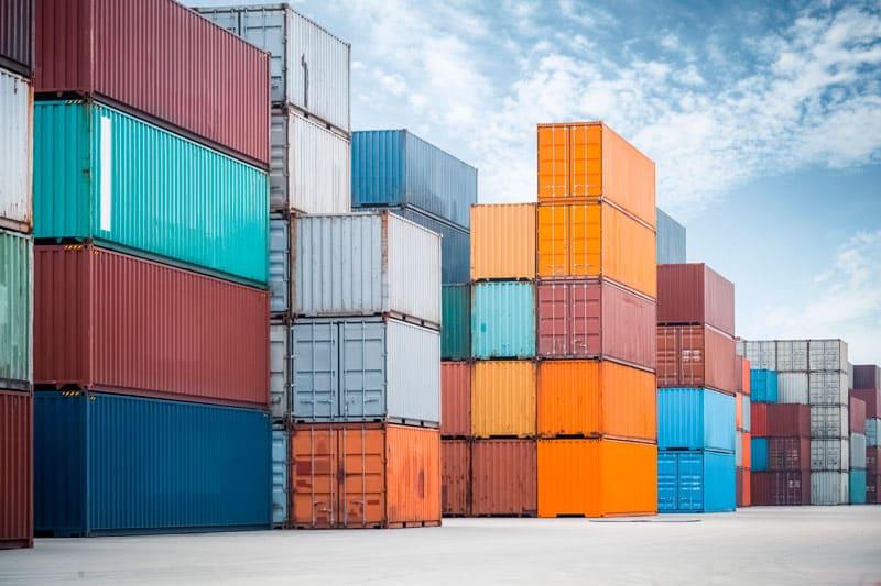 tipos de contenedores para el transporte