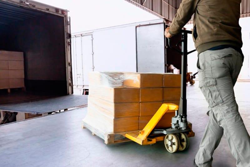 transporte seguro de mercancías